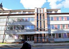 Sozialistische Architektur in Terezin, Tschechien.