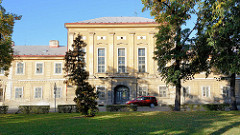 Historische Architektur - Militärgebäude in der Garnisonsstadt Terezin, Theresienstadt