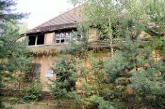 Gebäude der ehem. Lagerbäckerei vom KZ Sachsenhausen - die Brotfabrik belieferte das Konzentrationslager und SS-Dienststellen mit Brot.