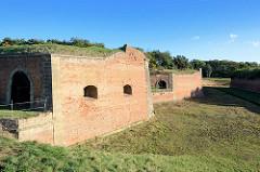 Befestigungsanlage, Festung Terezin / Theresienstadt.