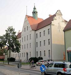 Amtsgericht Oranienburg, erbaut 1906 - Entwurf königlichen Kreisbauinspektors Baurat Jaffé.