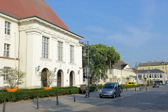 Gebäude Runge-Gymnasium in Oranienburg, erbaut 1913 - Architekten Beringer und Schock.