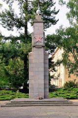 Ehrendenkmal der Roten Armee, Sowjetischer Ehrenfriedhof in Oranienburg.