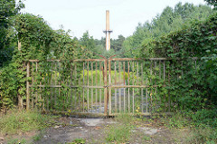 Gelände ehem. Lagerbäckerei vom KZ Sachsenhausen / Oranienburg - die Brotfabrik belieferte das Konzentrationslager und SS-Dienststellen mit Brot.