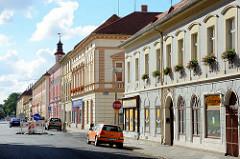 Wohnhäuser / Geschäftshäuser in Terezin.