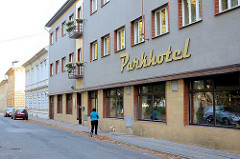 Gebäude / Parkhotel,  Hotel Terezin.