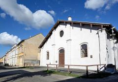 Historische Reithalle in Terezin / Theresienstadt - erbaut 1862.