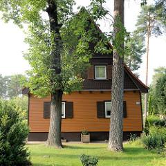 Einzelhaus mit Satteldach / Spitzdach in Oranienburg - Bernauer Strasse.