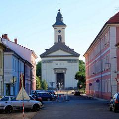 Garnisionskirche in der Garnisionsstadt Theresienstadt, Terezin - erbaut 1805.