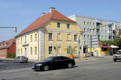 Historische Architektur Oranienburgs - königliches Forsthaus, erbaut 1772.