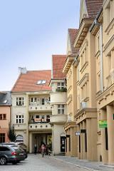 Architektur der böhmischen Stadt Kolin, Tschechien.
