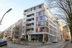 Wohnungsneubau auf Hamburg St. Pauli - Ecke Lincolnstrasse, Trommelstrasse.