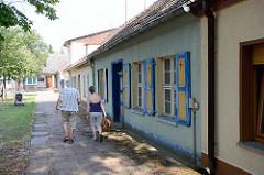 Historische Wohnhäuser - Architekturbilder aus Rheinsberg, Brandenburg.