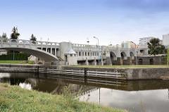 Brücke über die Elbe bei Kolin, Tschechien.