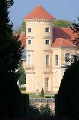 Schlossturm Rheinsberger Schloss.