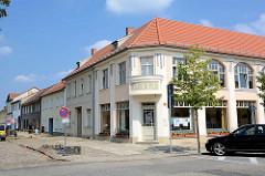 Jugendstilkaufhaus - Geschäftshaus, Rheinsberg / Brandenburg.