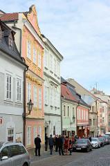 Altstadt von Kolin - Jüdisches Viertel, alte Gebäude / historische Architektur.