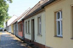 Historische Architektur in Rheinsberg - Wohngebäude.