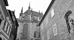 Dom in Kolín, St. Bartholomäus Kirche aus dem 13. Jahrhundert - Architekt Peter Parler.