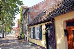 Historische Wohnhäuser - Architekturfotos aus Rheinsberg, Brandenburg.