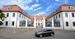 Ständisches Landhaus in Lübben ( Spreewald ), einstiger Sitz der Niederlausitzer Landstände.
