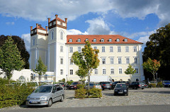 Schloss Lübbenau / Spreewald; klassizistische Architektur - Umbau um 1820, Architekt Carl August Benjamin Siegel.