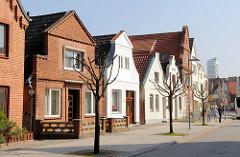 Einzelhäuser - Wohnhäuser in der Travemünder Kurgartenstrasse.