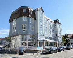 Wohn- und Geschäftshaus am Markt von Lübben / Spreewald;
