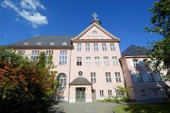 Paul Gerhardt Gymnasium in Lübben, Spreewald; erbaut 1913 / 14.