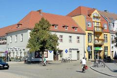 Gebäude der Spreewald Lichtspiele in Lübben.