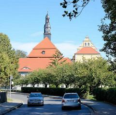 Schlossgebäude vom Schloss Lübben - die heutig Anlage entstand vermutlich im späten Mittelalter.