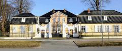 Schlösschen Bellevue / Küselsches Palais - ehem. Sommerhaus im Rokoko-Stil - erbaut 1756; Einsiedelstrasse - Hansestadt Lübeck.