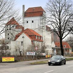 Ehem. Fabrikgebäude Haus Sellschopp - ehem. Vereinsbrauerei in Lübeck Bunte Kuh; Abriss 2014.