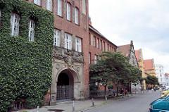 Gebäude vom Johanneum in Lübeck, erbaut 1906.