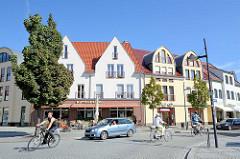 Wohn- und Geschäftshäuser in Lübben (Spreewald).