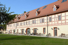 Marstall vom Schloss Lübbenau / Spreewald.