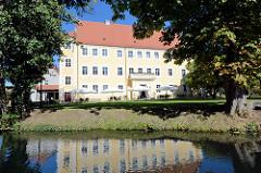 Blick zum Schloss Lübben / Stadt- und Regionalmuseum.
