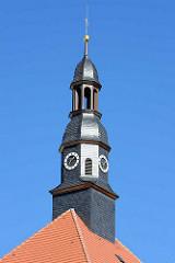Kupferturm, Uhrenturm vom Schloss Lübben.