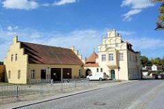 Alte Pumpstation an der Hauptspree in Lübben / Spreewald.