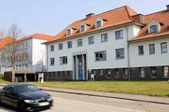 Ehem. Badehaus für Hüttenarbeiter an der Hochofenstrasse in Herrenwyk, Hansestadt Lübeck.
