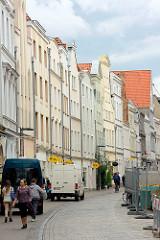 Mehrstöckige Wohn- und Geschäftshäuser - Hansestadt Lübeck.