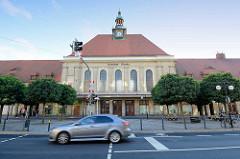 Empfangsgebäude vom Bahnhof Görlitz - Umbau, Neubau 1906 - 1917.