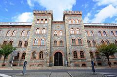 Ehem. Jägerkaserne in Görlitz - erbaut um 1858, jetzt Sitz vom Landkreis Görlitz.