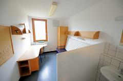 Zelleninnenansicht - Frauengefängnis Hamburg Billwerder.