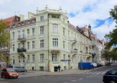 Mietshäuser - Gründerzeitfassaden in Zgorzelec.