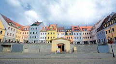 Plac Pocztowy / Postplatz - Töpferberg in Zgorzelec; neue Bebauung in Anlehnung an die zerstörte historische Architektur.