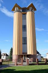 Zgorzelecer Wasserturm auf dem Rabenberg - Höhe 24m.