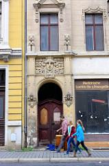 Leerstehendes, renovierungsbedürftiges Jugendstilgebäude in Görlitz.