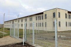 Gebäude der Frauenabteilung / Frauengefängnis in der JVA Hamburg Billwerder.