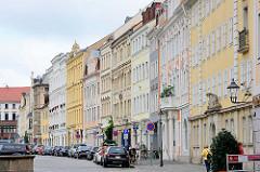 Gebäude am Obermarkt in der Görlitzer Altstadt.